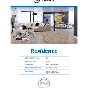 RESIDENCE_Certificato_My-floor