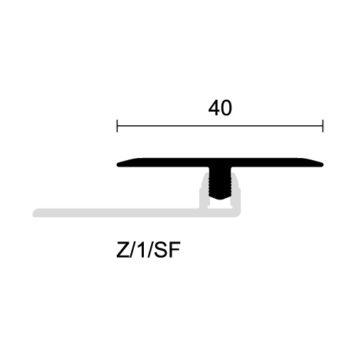 Profilo dilatazione in alluminio anodizzato